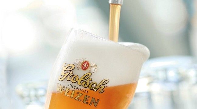 Photo of Grolsch Premium Weizen, tulbure de vara
