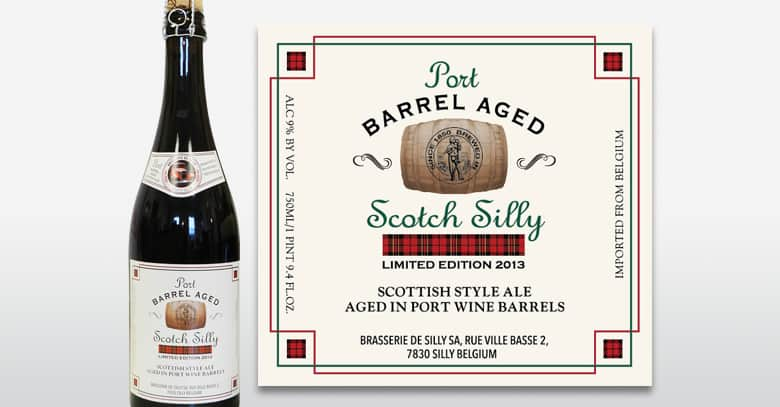 Photo of Scotch Silly – Barrel Aged (Port), calitate belgiana cu aroma portugheza