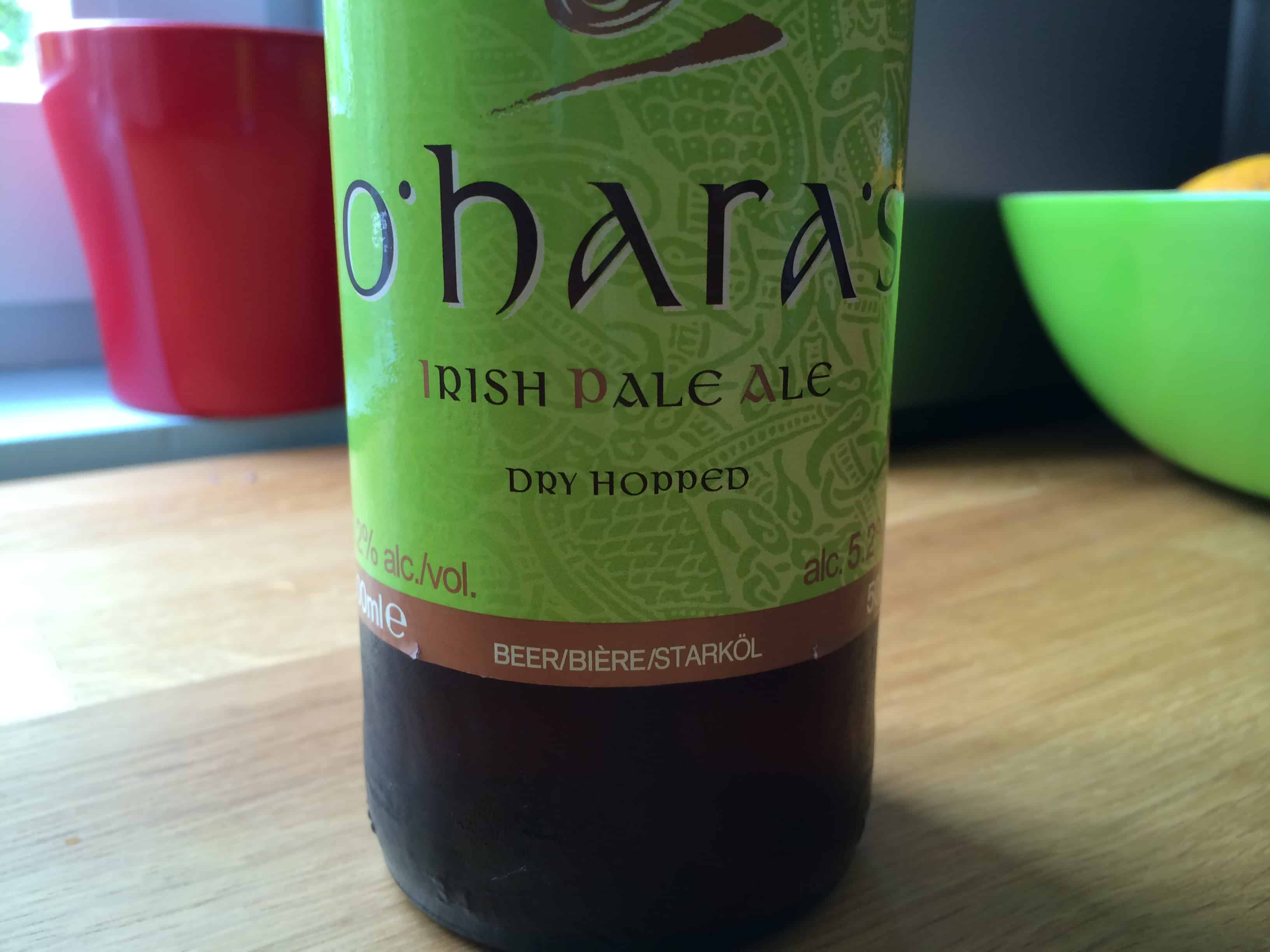 Photo of O'Hara's Irish Pale Ale, un experiment reusit