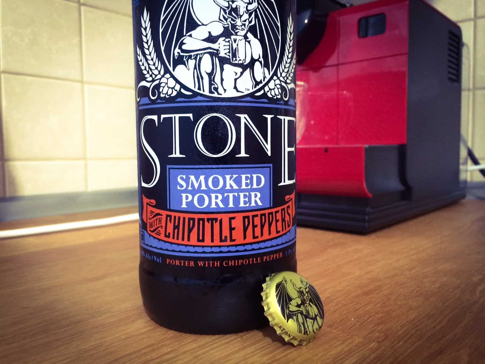 Photo of Stone Smoked Porter Chipotle Pepper, prima bere cu ardei iute