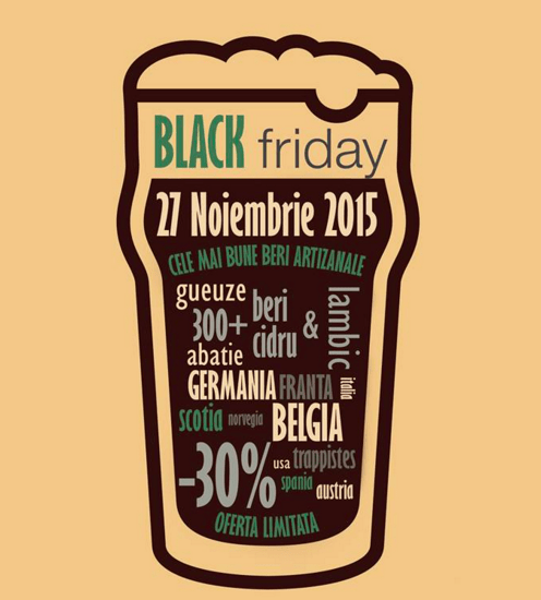 Photo of Black Friday la bere