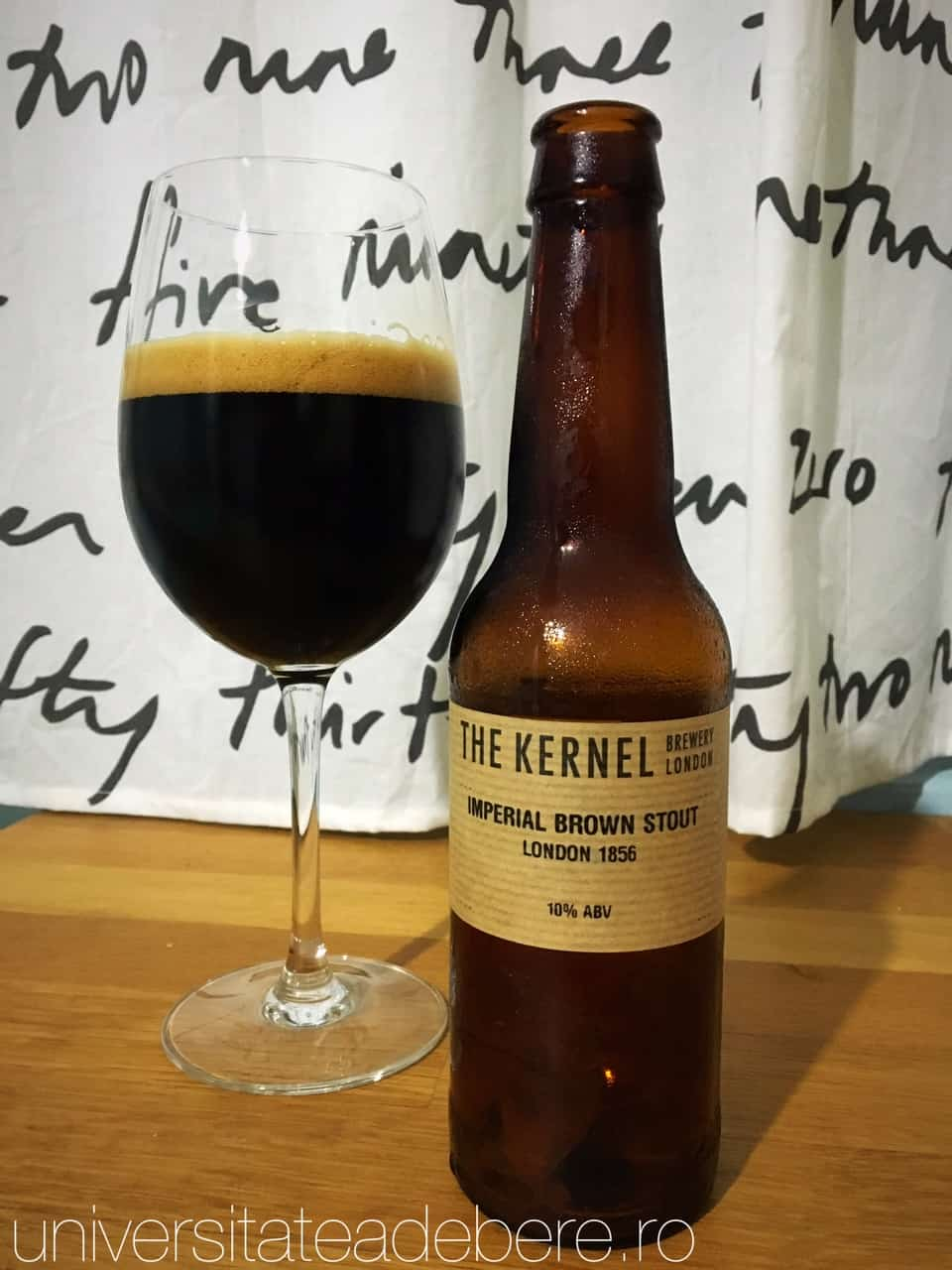 Photo of The Kernel Imperial Brown Stout, ceva deosebit
