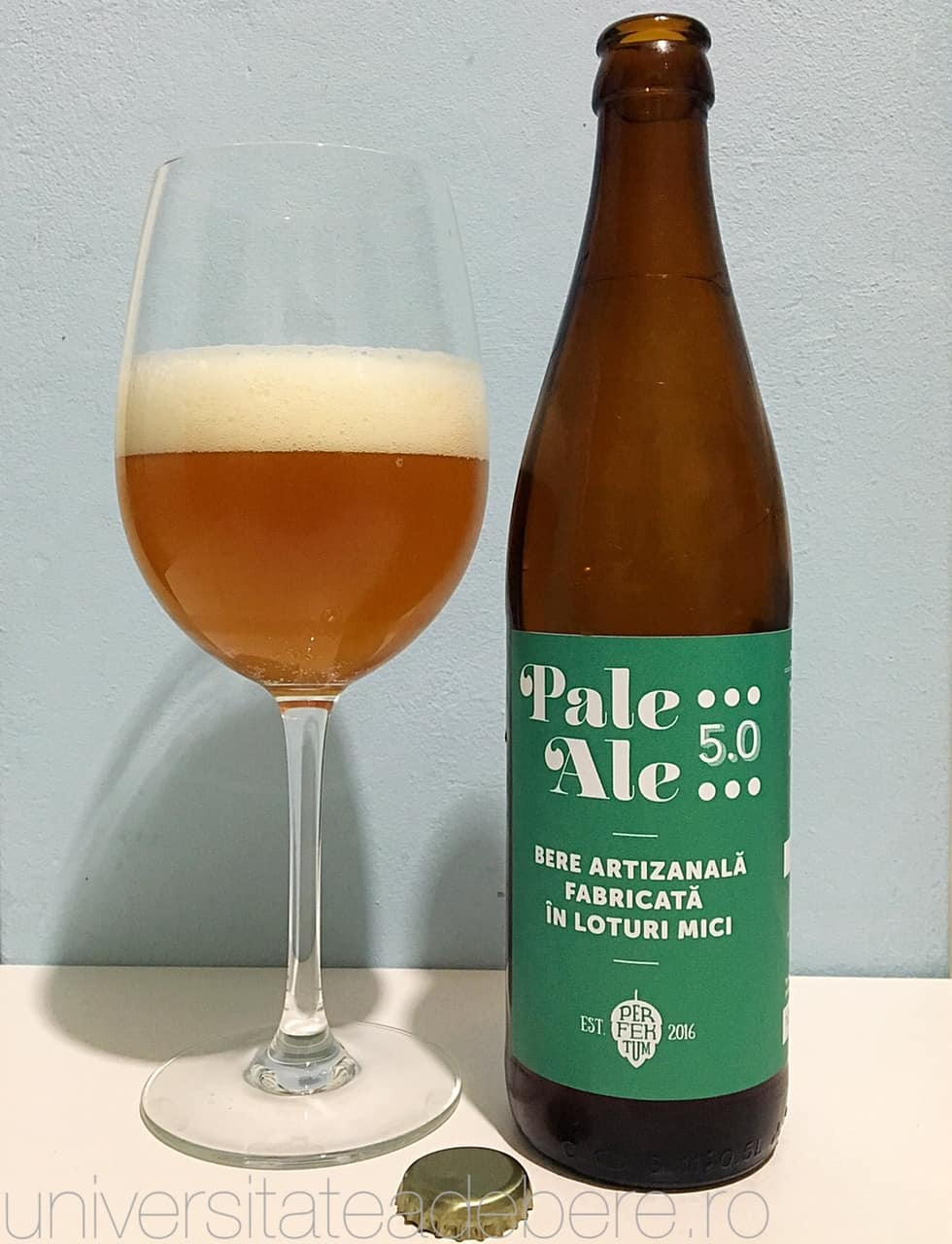 Photo of Perfektum Pale Ale, inca una artizanala din Berceni