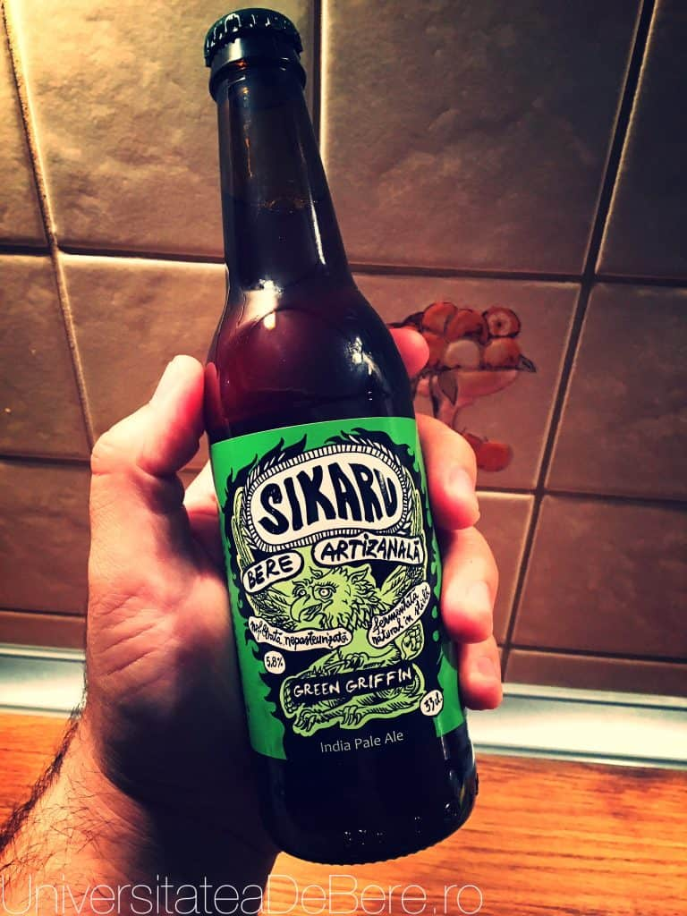 Sikaru Green Griffin IPA