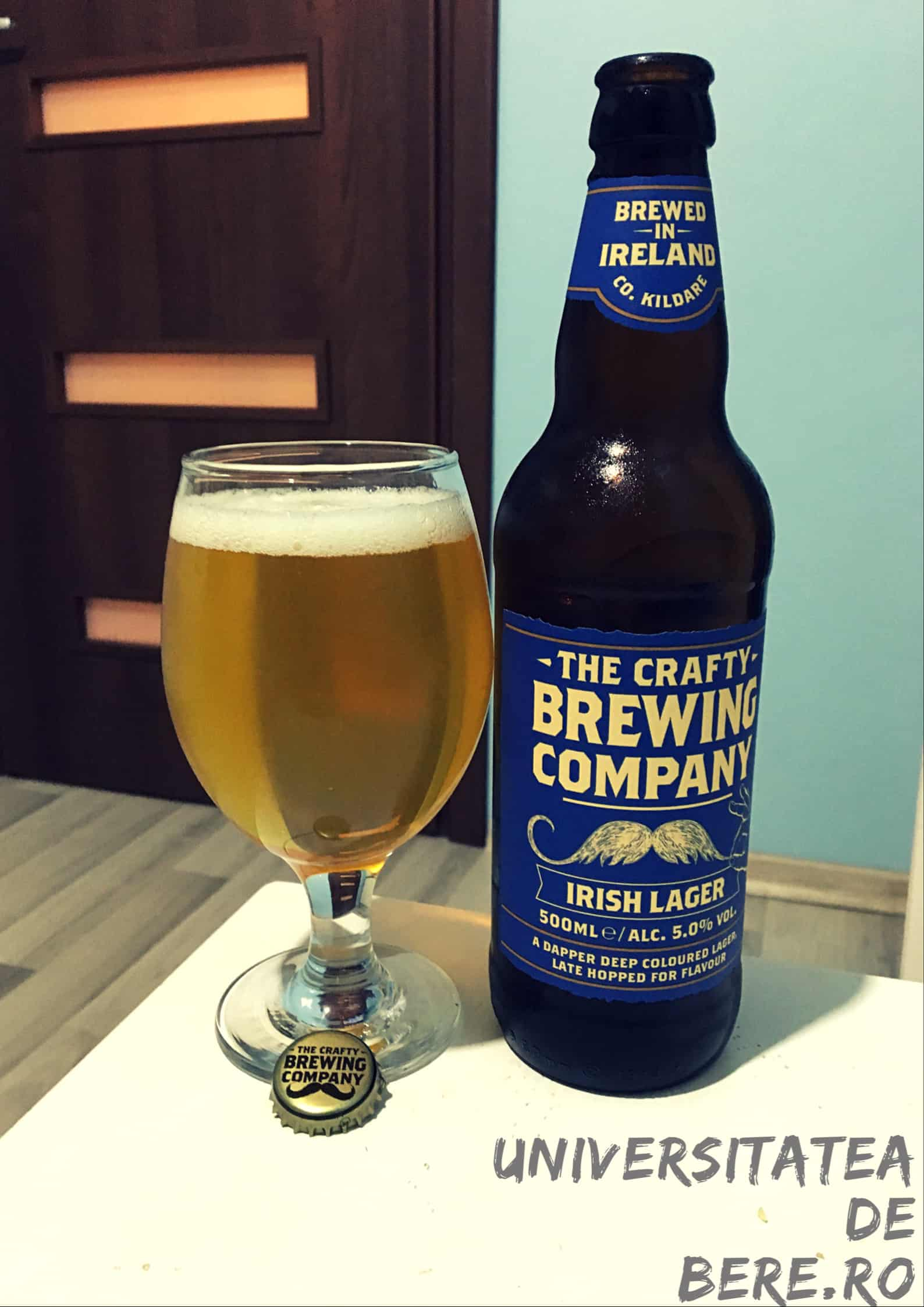Photo of The Crafty Brewing Company – Irish Lager