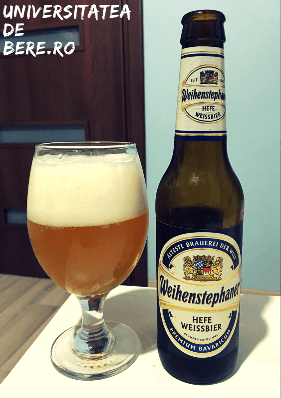 Photo of Weihenstephaner Hefe Weissbier, arta berii de grau
